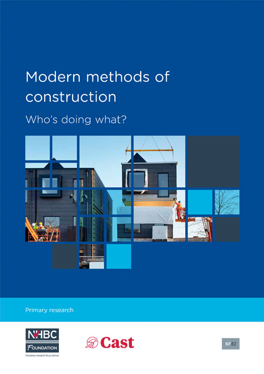 Cast And NHBC Foundation Publish Research On Latest MMC Use In UK Homebuilding - Cast