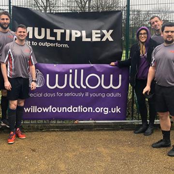 Multiplex Charity Football