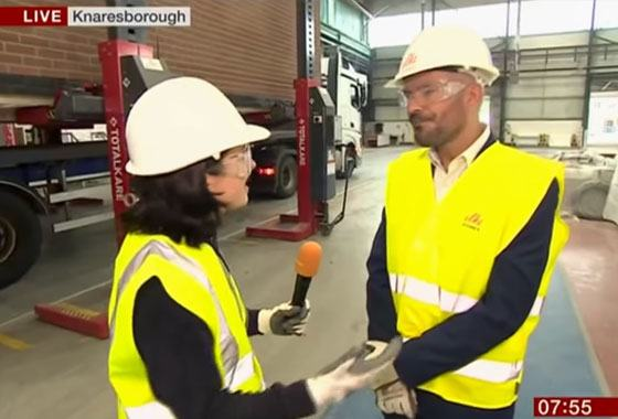 BBC Breakfast: Ilke Homes & Places For People Announce The Largest Ever Modular Housing Deal - Cast