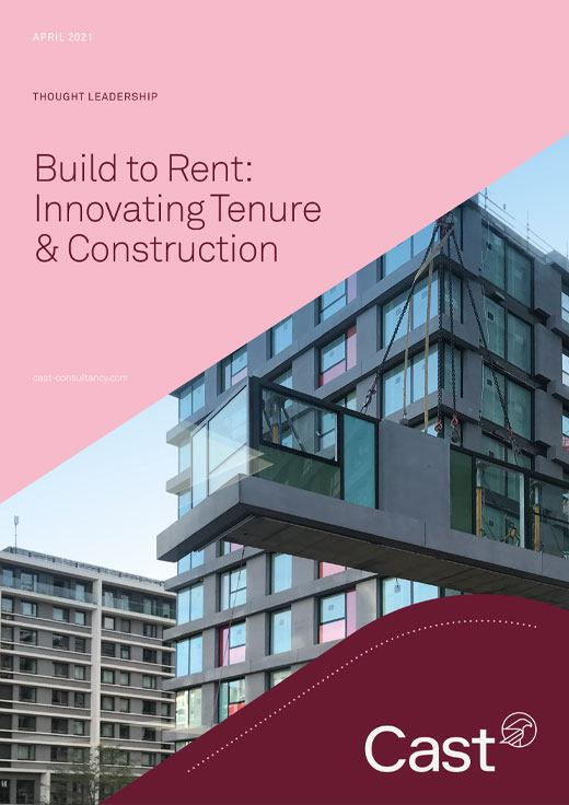 Build to Rent: Innovating Tenure & Construction - Cast